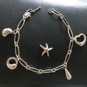 Jewelry - Sterling Silver Charm Bracelet.